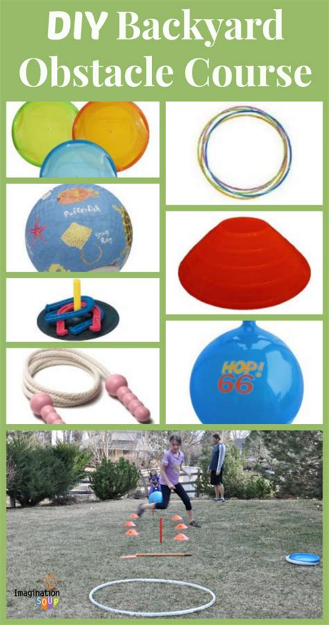 a backyard obstacle course for your kids backyard