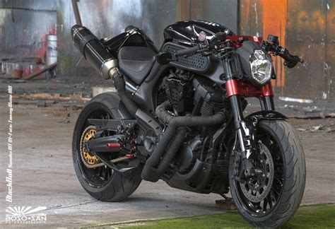 Motorradtechnik S W by Racing Caf 232 Yamaha Mt 01 Quot Black Bull Quot By Boso San