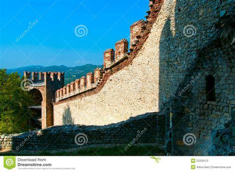 scaligero castle stock photos image 22205513