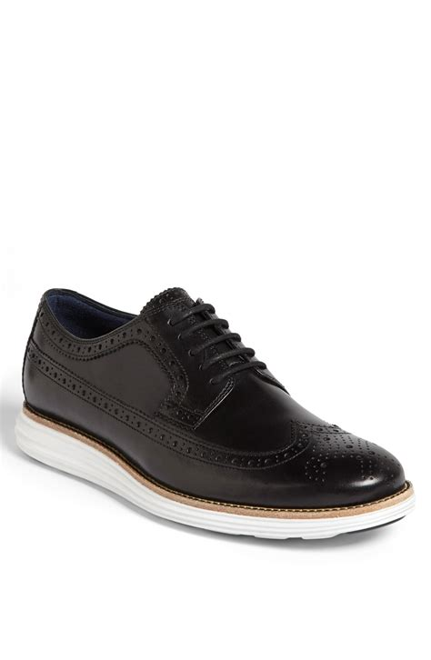 cole haan lunargrand longwing in black for black