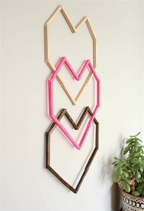 diy popsicle sticks home decor ideas that you will
