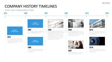 company history template ppt timeline template timeline template with logo