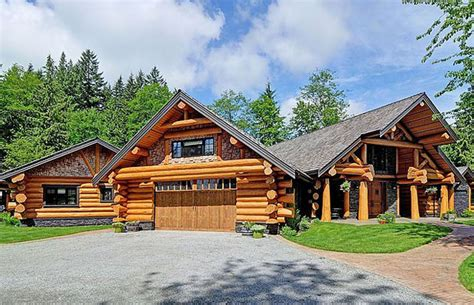gallery on the market for a log home