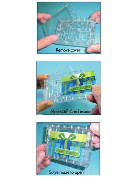Gift Card Mazes - gift card maze