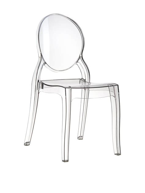 sedie plexiglass kartell sedie trasparenti in plastica policarbonato