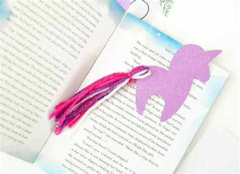 Diy Unicorn Bookmark With Free Unicorn Printable Diy Bookmarks Templates