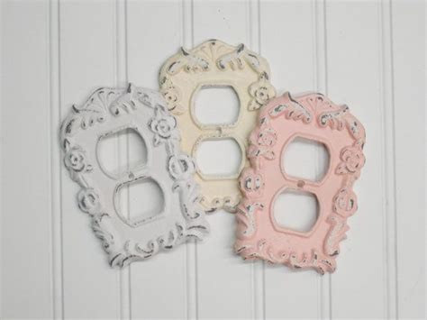 shabby chic outlet covers best 25 outlet covers ideas on wall light