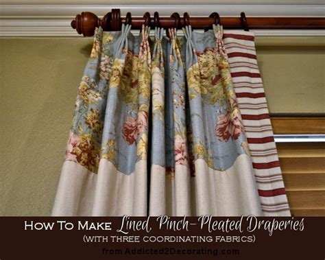 how to make pleated drapes without pleater tape best 25 pinch pleat curtains ideas on pinterest