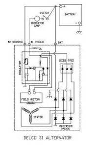 jeep cj delco remy internally regulated alternator
