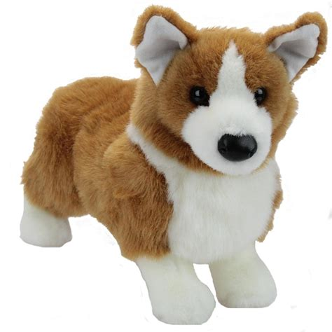 stuffed puppy ingrid the plush corgi puppy by douglas