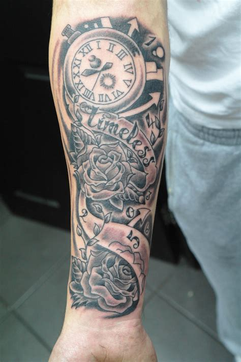 forearm tattoo sleeves the gallery for gt half sleeve tattoos timeless