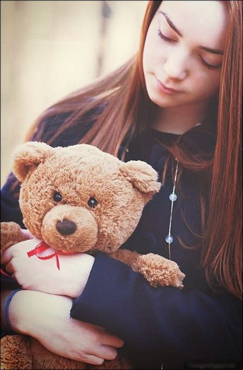 beautiful teddy bears  girls profile pictures