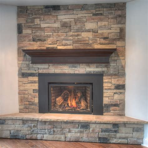 mountain ledge fireplace pictures