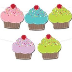 cupcake banner template cupcake banner chicfetti