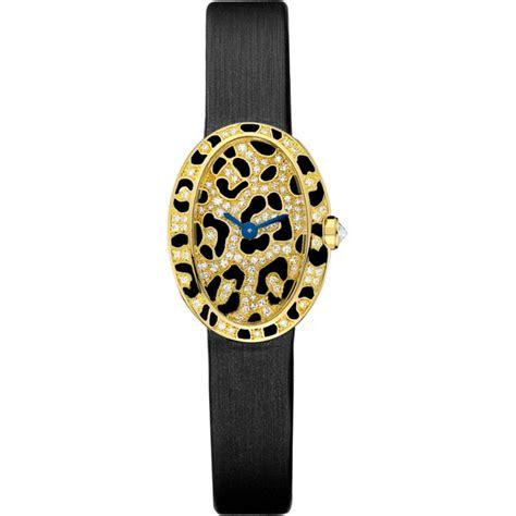 Mini Baignoire by Cartier Mini Baignoire Panther Spots Hpi00962 Yellow Gold