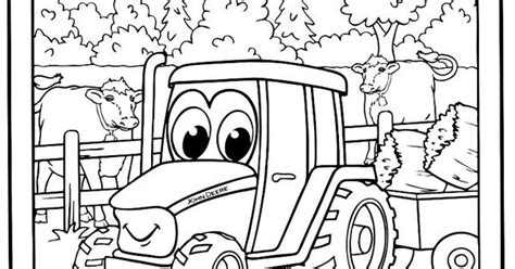 Johnny Tractor Coloring Pages Christopher S 3rd Birthday Johnny Tractor Coloring Pages