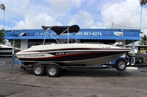 tahoe 215 xi boats for sale 2014 used tahoe 215 xi deck boat for sale 28 900