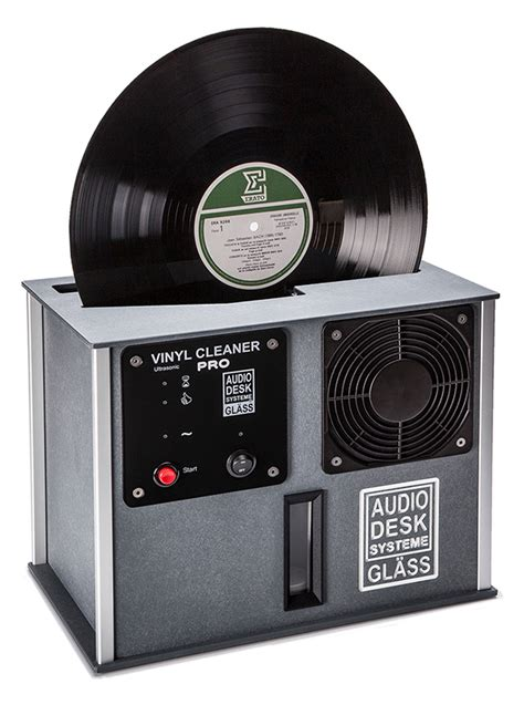 Audio Desk Systeme Vinyl Cleaner Pro Record Cleaner