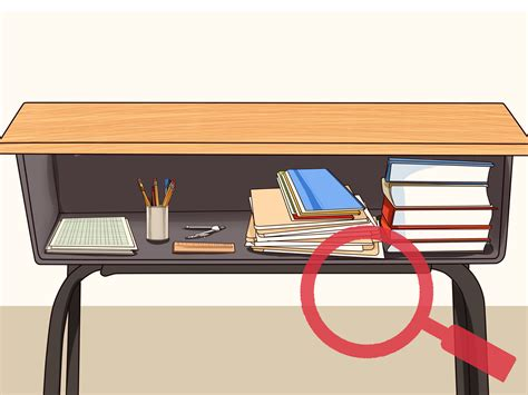How To Organize Desk How To Organize Your School Desk 9 Steps With Pictures