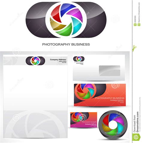 photography template logo design royalty free stock photo