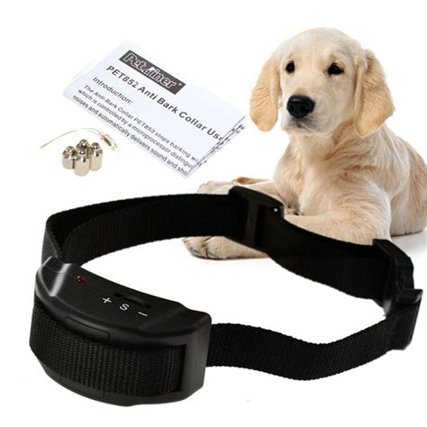 bark collars for puppies high quality new collar electric shock no barking anti bark pet