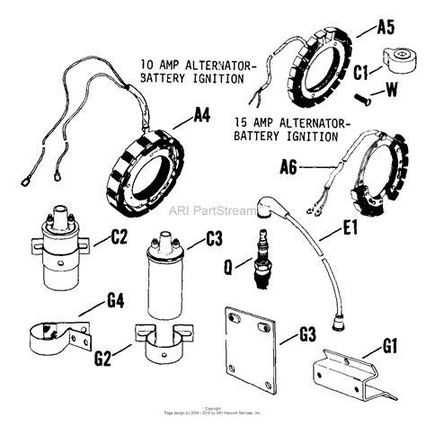 kohler 241 engine parts diagram kohler 5e generator parts