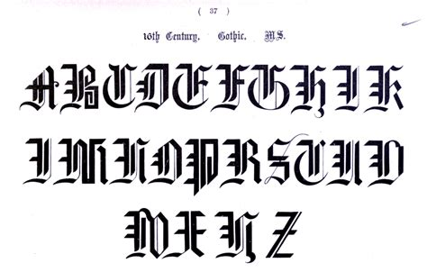 typography alphabet typography alphabet ornamental renaissance 34 vintage printable at