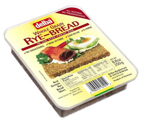 whole grains uk delba whole grain rye bread 250g pack of 3