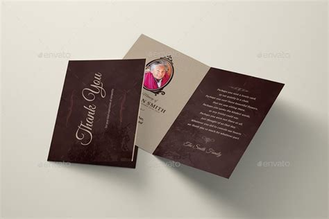 bi fold card template 20 thank you card template word psd ai and indesign