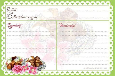 scuola di cucina gratis ricettario ricettario per cucina e liste per spesa