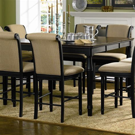 Counter Height Dining Table For 8 Cabrillo 9 Pc Counter Height Set Table 8 Stools Dining Room Coa 101828 101829 0