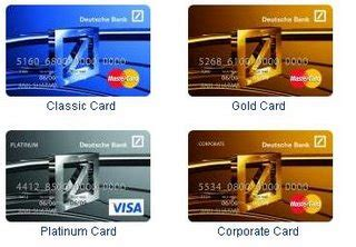 visa card deutsche bank all about plastic credit debit card industry deutsche