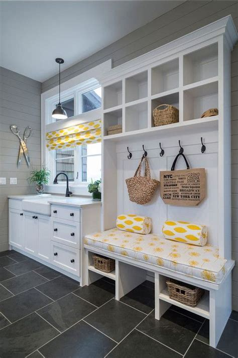 30 mudroom ideas with storage lockers benches