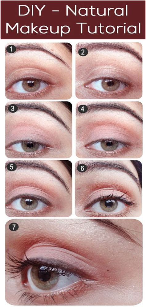 tutorial makeup natural pac natural eye makeup tutorial with detailed steps and pictures