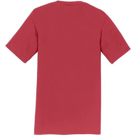 port and company fan favorite tee port company pc450 fan favorite tee cardinal red