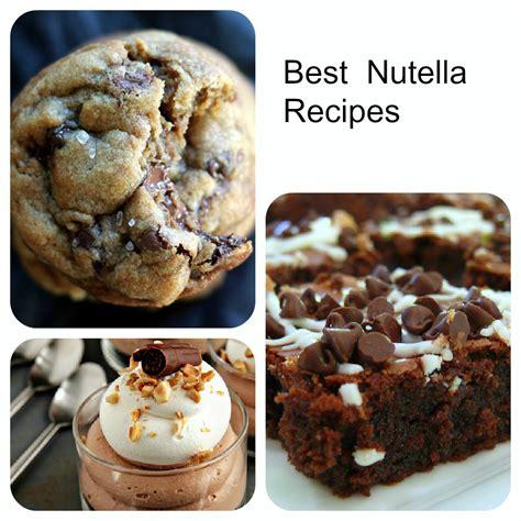 best nutella recipes baking beauty