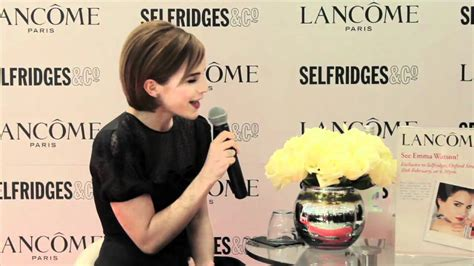 Emma Watson launches her Lancôme Rouge in Love collection
