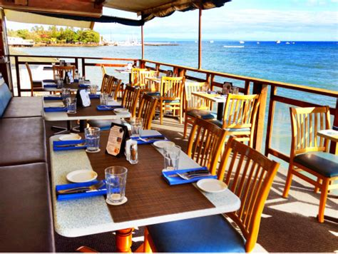 lahaina fish company maui oceanfront fine dining on lahaina fish company restaurant maui tours activities