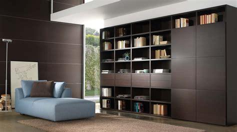 libreria in legno libreria in legno componibile a parete wood sololibrerie
