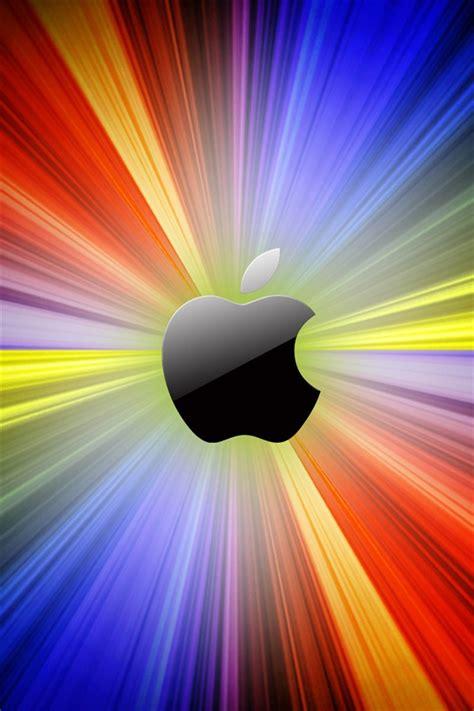 manzana luces de colores de fondo iphone xgs