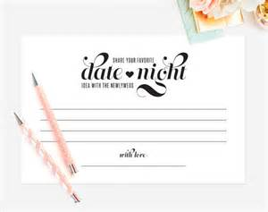 date night idea date night card wedding by blisspaperboutique