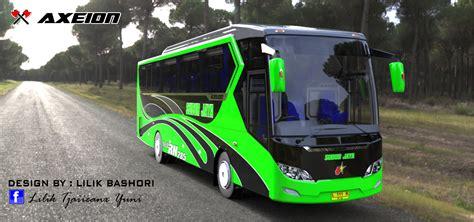 gambar desain bus hanya seorang newbie