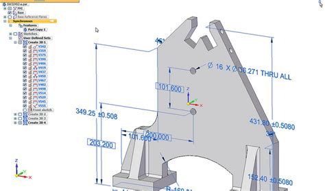 how to pattern a sketch in solid edge siemens plm and the solid edge st7 release