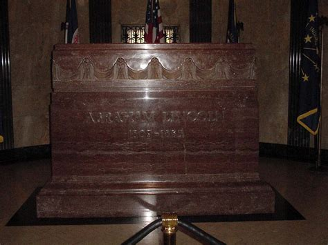 when was abraham lincoln buried pin abraham lincolns exhumed on