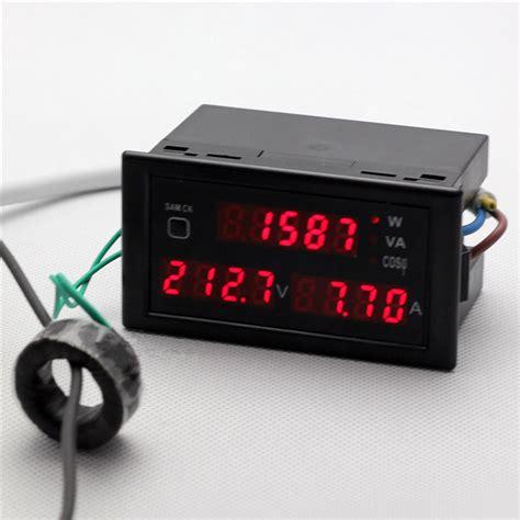 Watt Meter Voltage Kwh Haigh Quality Murah buy wholesale ac watt meter from china ac watt