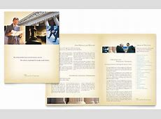 Attorney & Legal Services Brochure Template - Word & Publisher Holiday Gift Guide Microsoft