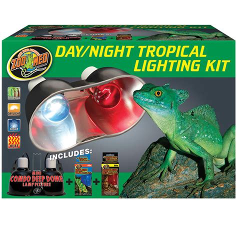 zoo lighting zoo med day tropical lighting kit