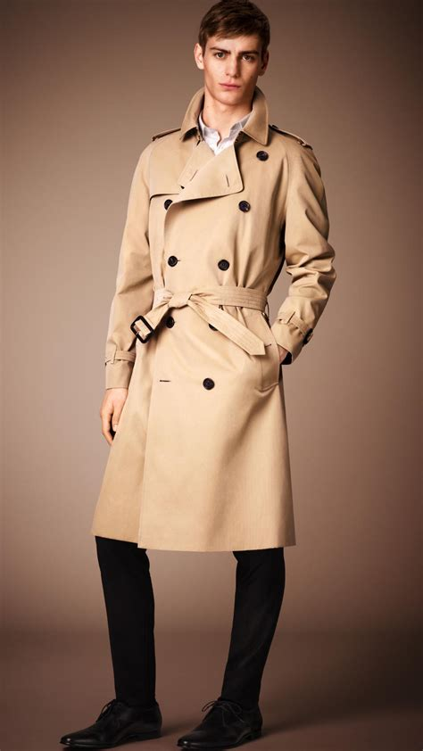 Heritage By Burberry burberry the westminster heritage trench coat honey
