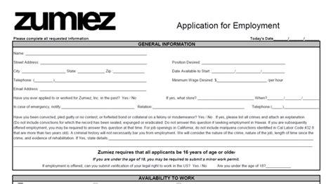 zumiez printable job application pdf zumiez application pdf job applications com