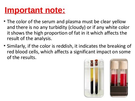 whole blood serum plasma collections